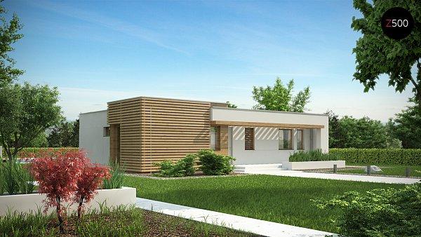 Проект дома Zx53