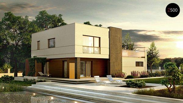 Проект дома Zx54