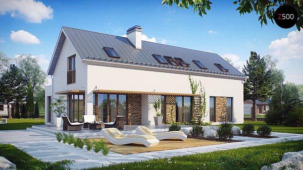 Проект дома Zx58