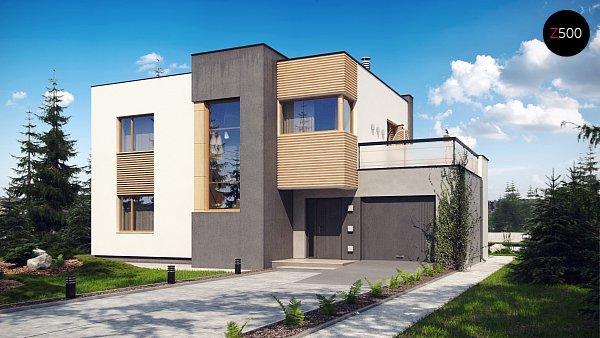 Проект дома Zx59