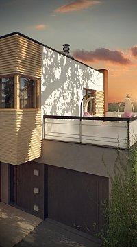 Проект дома Zx59 Фото 8