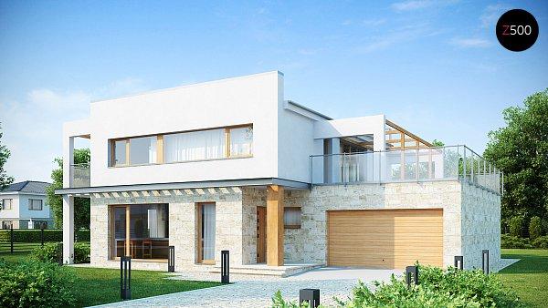 Проект дома Zx5