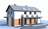 Проект дома Zx60 BG Фото 1