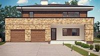 Проект дома Zx62 Фото 1