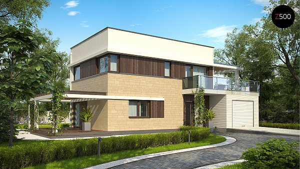 Проект дома Zx63 A
