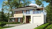 Проект дома Zx63 B Фото 2