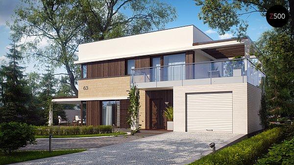 Проект дома Zx63