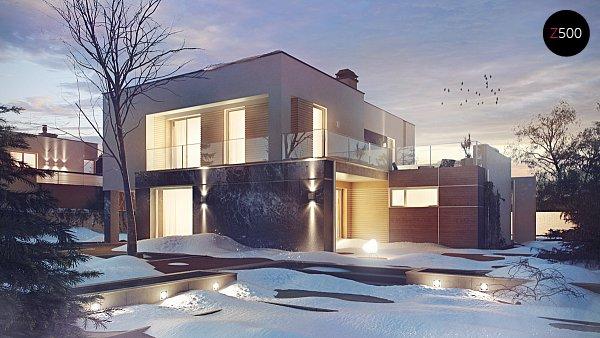 Проект дома Zx64