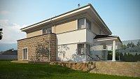 Проект дома Zx66 Фото 4