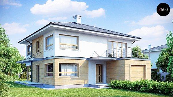 Проект дома Zx7