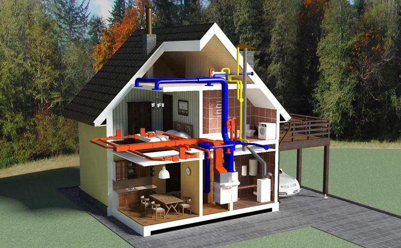 Энергия в загородном доме