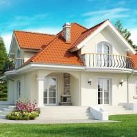 Каркасные дома проекты Z18-dk