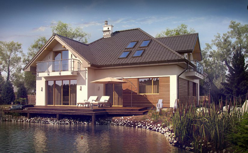 Проекты домов с гаражом Z272