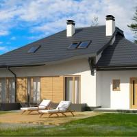 Проекты домов с гаражом Z56-A