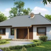 Каркасные дома проекты Z69-dk