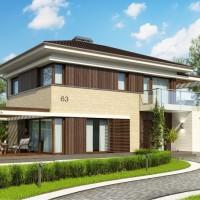 Двухэтажные дома Zx63-B