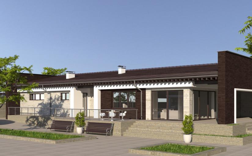 Проект дома 4 house