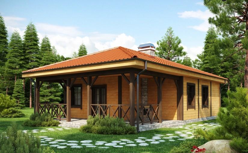Проект дома Z16 dk