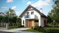 Вариант исполнения проекта дома Z177 dk