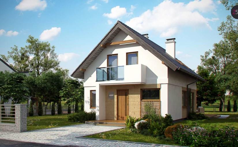 Проект дома Z177 dk
