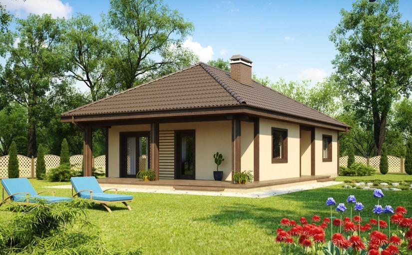 Проект дома Z55 dk