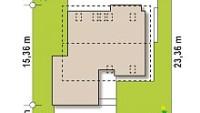 Минимальные размеры участка для проекта Z320