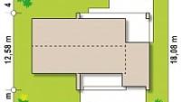 Минимальные размеры участка для проекта Z53 A