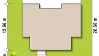 Минимальные размеры участка для проекта Zx111