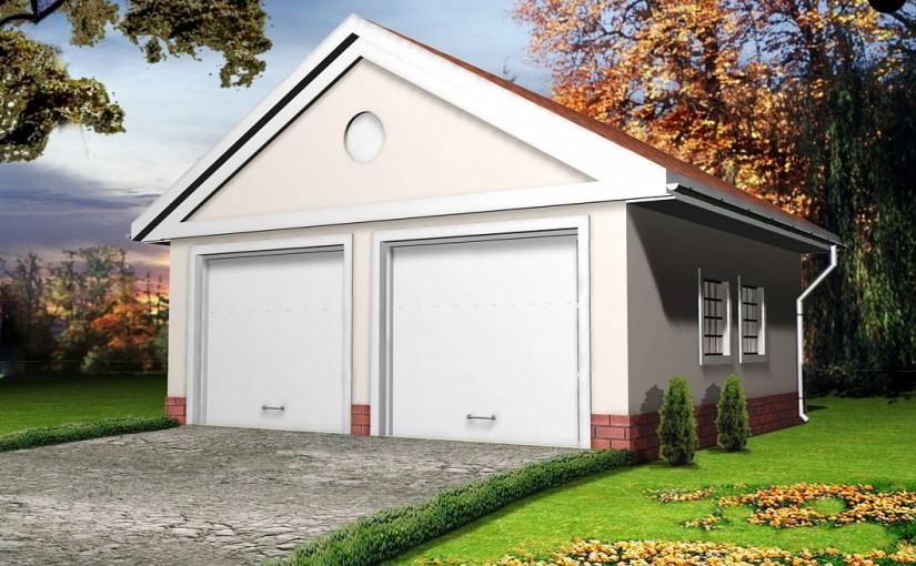 Проект гаража Zg11