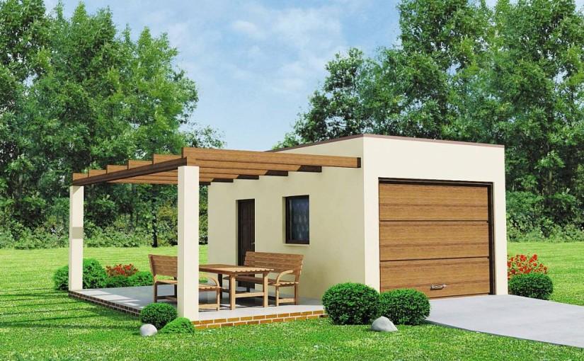 Проект гаража Zg13