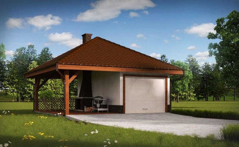 Проект гаража Zg14