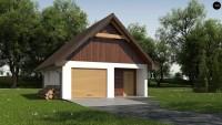 Проект красивого гаража Zg2