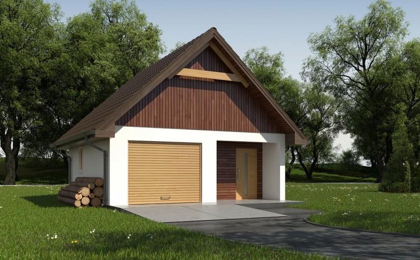Проект гаража Zg2