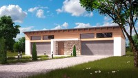 Проект гаража Zg27