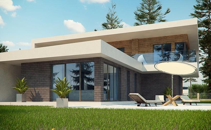 Проект дома Zx70