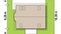 Минимальные размеры участка для проекта Z14w