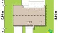 Минимальные размеры участка для проекта Z232 A