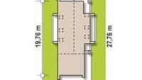 Минимальные размеры участка для проекта Z330 P