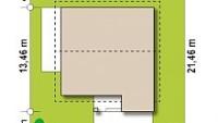 Минимальные размеры участка для проекта Z331