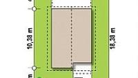 Минимальные размеры участка для проекта Z38V1