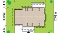 Минимальные размеры участка для проекта Z92 GL