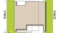 Минимальные размеры участка для проекта Zx123 GP2