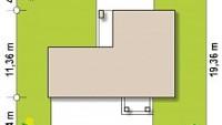 Минимальные размеры участка для проекта Zx136