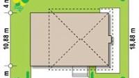 Минимальные размеры участка для проекта Zx2 gl2