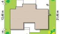 Минимальные размеры участка для проекта Zx22