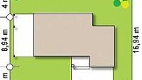 Минимальные размеры участка для проекта Zx63 s