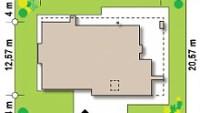 Минимальные размеры участка для проекта Zx65 +