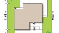 Минимальные размеры участка для проекта Zx73