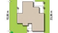 Минимальные размеры участка для проекта Zx74