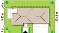 Минимальные размеры участка для проекта Zx8 gp2